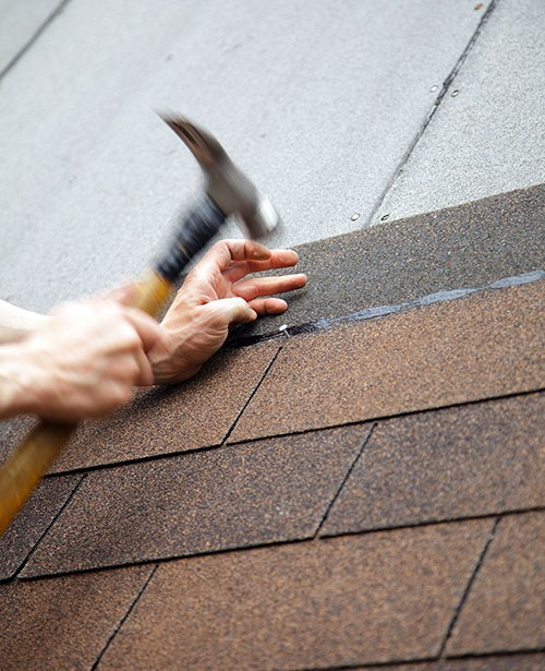 Asphalt Shingle Roof Replacement Home