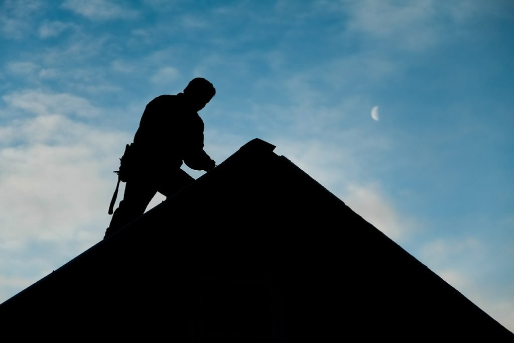 Roof Inspecting At Residence Home